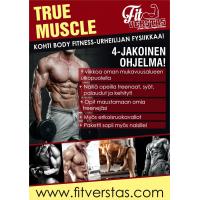 True Muscle 4-jakoinen ohjelma