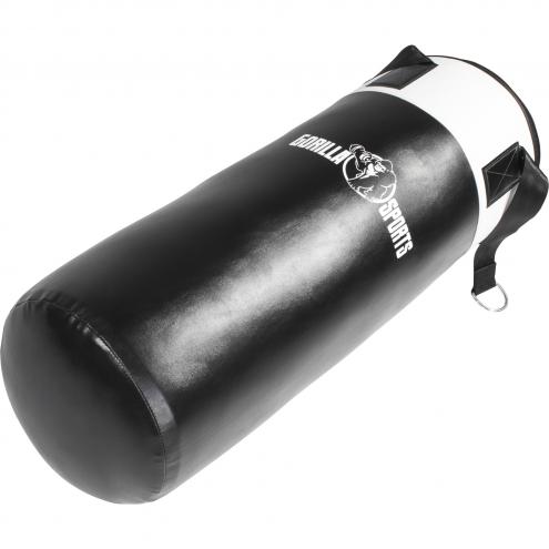Nyrkkeilysäkki 18kg musta-valkoinen