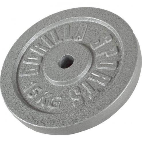 Valurautainen levypaino 15kg