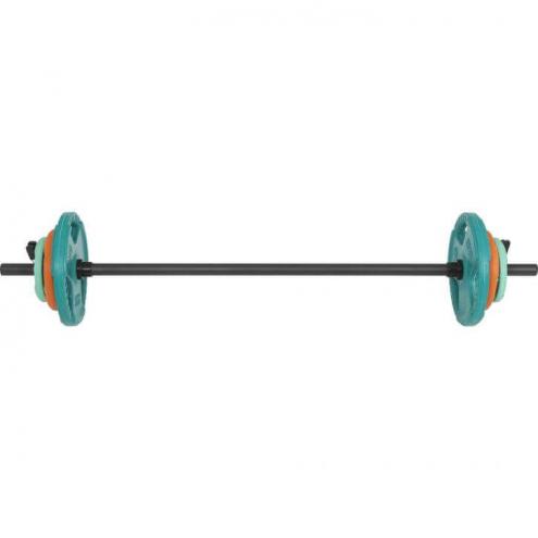 Bodypump tanko ja kumiset painot 20kg