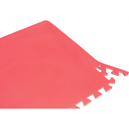Suojamatto (18 palaa) punainen
