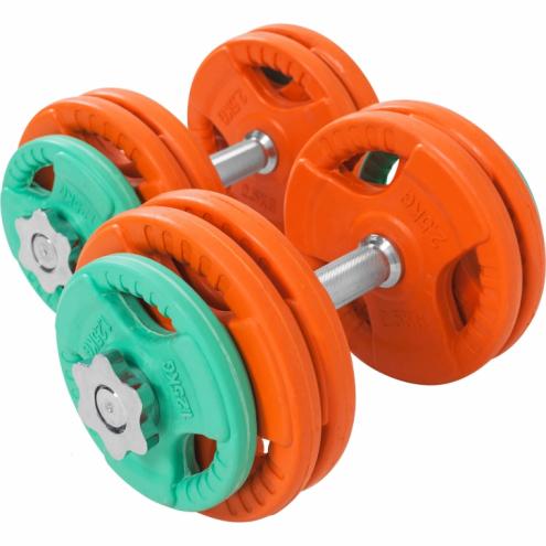 Säädettävät käsipainot 30kg Olympia 30mm