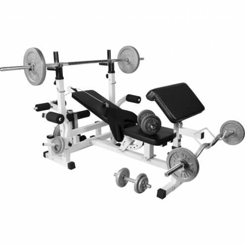 Monipuolinen treeniasema ja 108kg painosarja