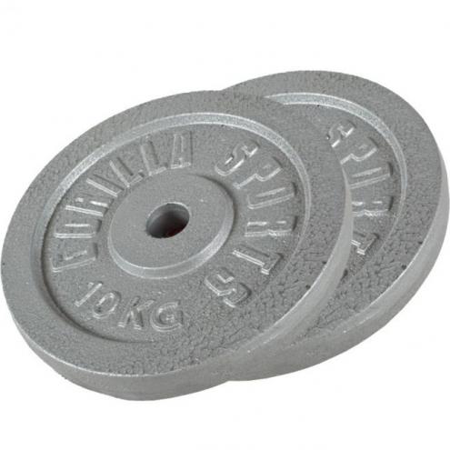 Valurauta levypaino 2 x 10kg