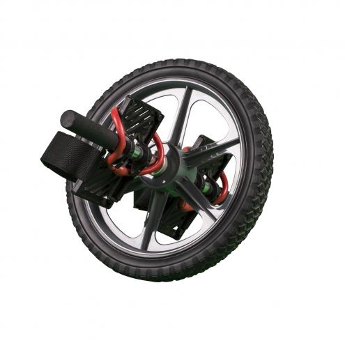 Voimapyörä jalansijoilla