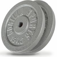 2 x 15 kg Valurautapainot