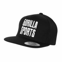 Gorilla Sports Snapback Musta