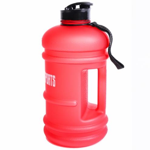 Juomapullo 2,2 litraa Mattapunainen