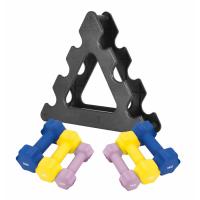 Aerobic-Käsipainot + Teline
