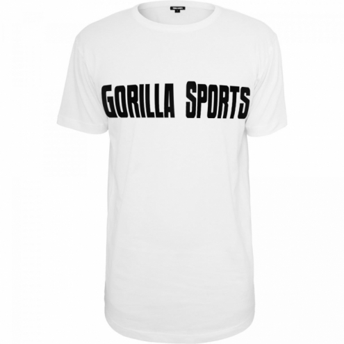 Urheilu T-paita valkoinen