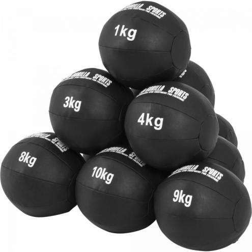 Wall Ball Kuntopallo Setti 1-10kg