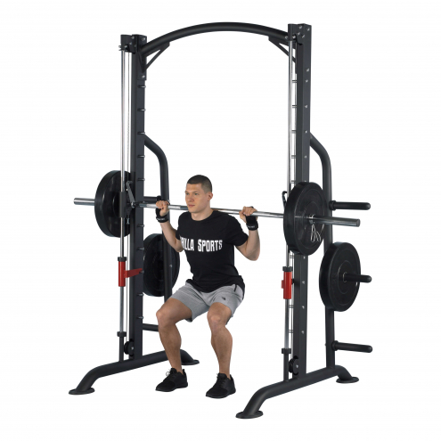 Multipress Power Rack musta
