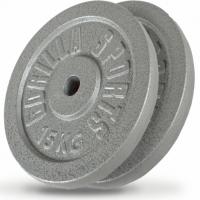 2 x 15 kg Valurautapainot 1